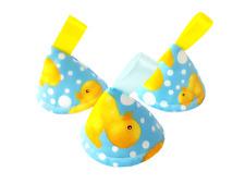 Pee Pee Teepee x3 / Wee Stop Cones Teepees / Boy Baby Shower Gift / Rubber Ducks