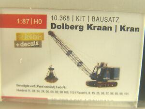 Dolberg Kran auf Ketten  - Aritec Bausatz  HO 1:87 -   10368   #E