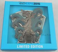 Disney D23 Expo 2015 Sculpted Sorcerer Mickey Jumbo Pin Limited Edition LE 500