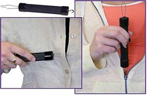 Button Hook & Zipper Pull One Hand Buttons Aids Dressing Assist Device Arthritis