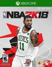 NBA 2K18 Basketball Xbox One S or Xbox One X Console New Sealed Ships Fast !!!