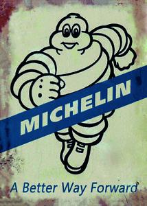 Michelin Petrol Oil Man Cave Metal A3 420x297 Sign