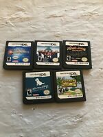 Nintendo DS Video Game Mixed Lot Of 5 Games (LOT 12)