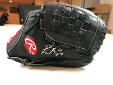 BRONSON ARROYO #61 AUTOGRAPH SIGNED RAWLINGS GOLD GLOVE REDS GG5