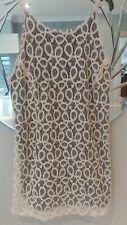 White Lace Slip Dress Size Small uk 10 by Motel Rocks.