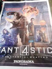 Locandina edicola-poster 80X90:DVD FANTASTICI 4 FANT4STICI EDIZ.PANORAMA