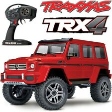 New Traxxas Trx-4 Mercedes-Benz G500 4x4 Scale Trail Rc Rock Crawler Truck Red