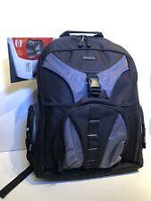 "Targus TSB007US Black Grey 15.4"" Backpack Sport Laptop Computer Case"