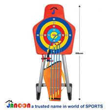 Bow & Arrow Archery Set Target Stand Kids Toy Outdoor Garden Fun Game Xmas Gift
