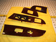 Lexus 2007 is250 front & rear doors switches plastic wood OEM 1 set of 4 Covers