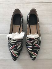 Worn Once Women's Paul Smith Downy Calf Leather Print Shoes RRP £245 EU 38