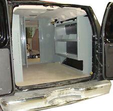 Van Shelving Storage Unit - Space Saver Full Size Ford, GMC, Chevy 38Lx44Hx13D