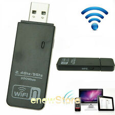 Dual Band 300Mbps Mini Wireless-N USB WIFI Adapter LAN Stick Network Adapter WPS