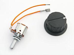 Switch Potentiometer for Powakaddy Robocaddy Golf Trolley C/w Operating Knob.