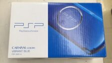 NEW PSP PlayStation Portable Vibrant Blue PSP-3000VB SONY Japan Import F/S