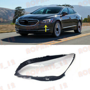 1PCS For Buick LaCrosse 2017-2019 Left Side Headlight Clean Cover PC+Glue