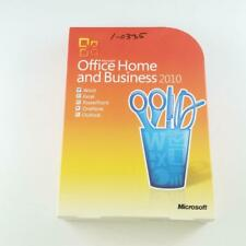 Microsoft Office Home and Business 2010 Full Retail DVD T5D-00417 X16-27718-02