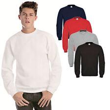 Herren Sweatshirt B&C Pullover Shirt Pulli Jacke I S M L XL XXL 3XL
