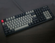 Black Gray mixed Dolch Thick PBT104 Keycaps OEM Profile Key caps For MX Keyboard