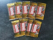 Marvel Universe 2014 Trading Cards X 9 Sealed Booster Packs