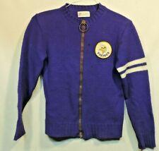 Vintage Sportwear NFL Minnesota Vikings Football Zipper Sweater Purple Small 60s
