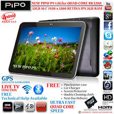 "Nueva Pipo P9 M9 32gb Gps de 10.1 ""de la Retina Ips rk3288 Quad Core 4.4 Android Tablet Pc"