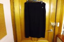 Country Road Midi Skirt Size M or 12 ~ As New Condition ~ Black Winter Weight