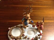 PARTYLITE Reindeer Snow Campfire Candy canes Squirrels Ornaments Birds Candle Ho