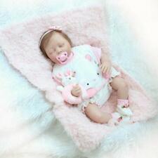 """20"""" Full Body Realistic Reborn Dolls Lifelike Baby Boy Newborn Doll Gifts Child"""