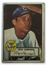 1952 Topps Baseball Card • Chico Carrasquel • #251