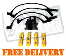 Ford Ka 1.3 98-02 Ignition Coil Pack Spark Plugs And Leads Replacement