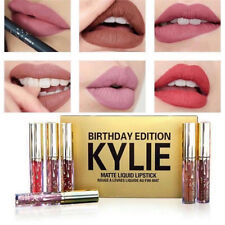 New Kylie Jenner Cosmetics Liquid Matte BIRTHDAY EDITION Kit 6Pcs Set US