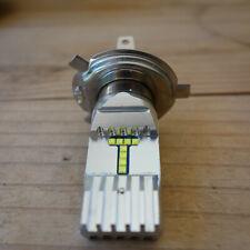 LED 6V 24/48W socalo P 43 T (H4) 4.300 K Luz Blanca Calida para Moto o Coche
