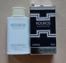 Miniature parfum KOUROS de Yves Saint Laurent – Edt 10 ml - vide
