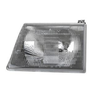 Headlight Left TYC 20-3075-90