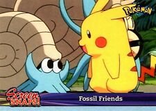 POKEMON TOPPS CARD SNAPS #06 FOSSIL FRIENDS PIKACHU