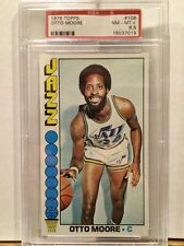 1976 Topps 106 Otto Moore PSA 8.5