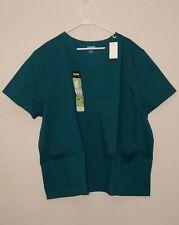 Core essentials Scrubstar Unisex Scrubs 2 piece - Hunter Green 2Xl Nwt