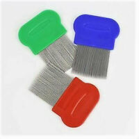 Head Hair Lice Nit Free Fine Toothed Nit comb, Anti Lice Comb Hair Nit Comb x 3
