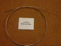 0.87mm x 1m 20SWG Nichrome Wire Resistance Heating Element Hot Foam Cutting