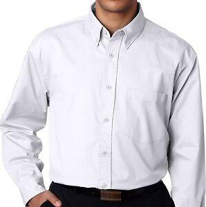Big & Tall Men's UltraClub Dress Shirt 2XL - 6XL 2XLT