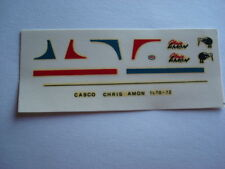 DECALS KIT 1/12 HELMET CASCO CRIS AMON MATRA - FERRARI F1