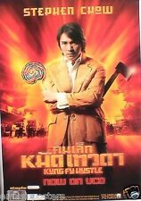 KUNG FU HUSTLE MOVIE POSTER FROM THAILAND - Stephen Chow, Danny Chan, Yuen Wah