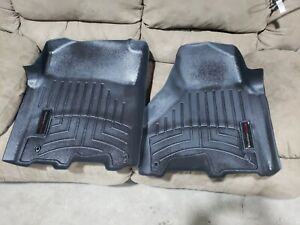 WeatherTech Floor Mats for Dodge Ram 1500/2500/3500 Front - 2012-2018 - Black