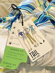 Tail White Label Multicolored Golf Skirt Skort with Shorts Women's Size 2 NWT