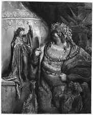 Gustave Dore gigantón Pantagruel 079 A4 Foto impresión