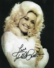 DOLLY PARTON Autographed 8 x 10 Signed Photo HOLO COA