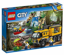 LEGO CITY 60160 JUNGLE MOBILE LAB 426 PIECES BRAND NEW AND SEALED