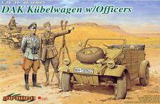 DRAGON 6364 1/35 DAK Kubelwagen w/Officers
