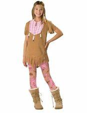 In Character Tween Native American Indian Girl Halloween Costume